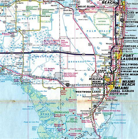 florida on the map florida aaroads interstate 75