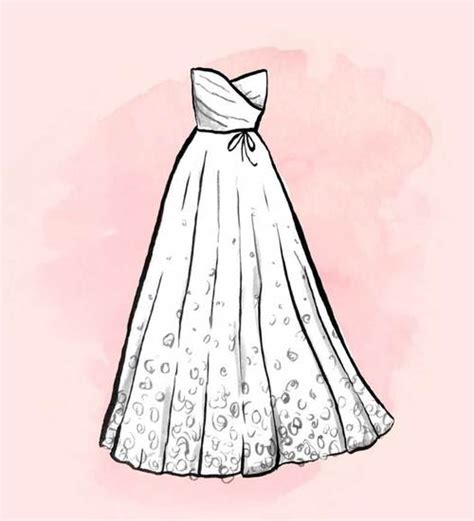 como dibujar vestidos fotos vestidos de novia para dibujar