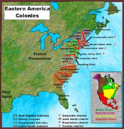 colonies map 13 colonies map free large images