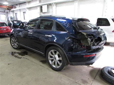used infiniti fx35 parts parting out 2005 infiniti fx35 stock 170324 tom s