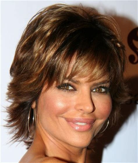 medium shaggy hairstyles for women over 40 hair on pinterest layered hairstyles full fringe and