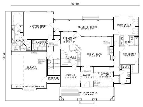 4 bedroom floor plans with bonus room 4 bedroom with bonus room over whole house 2300 sq ft