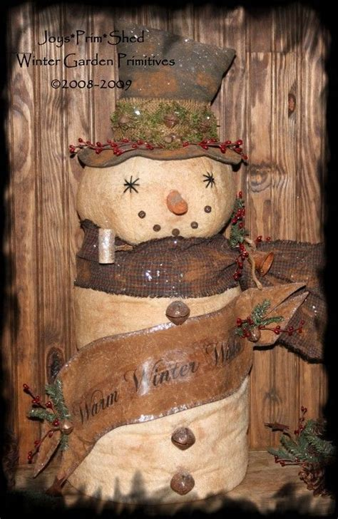 136 best primitive christmas images on pinterest prim