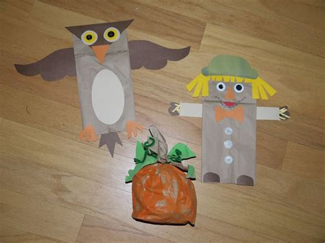 Paper Bag Craft Ideas - fall paper bag crafts search