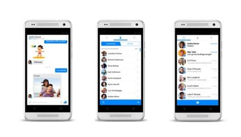 chat mobile italiana messenger nuovo look col prossimo update