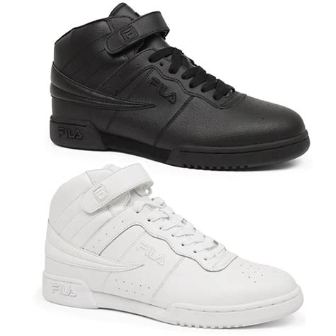 fila high top sneakers mens fila f13 f 13 classic mid high top basketball shoes
