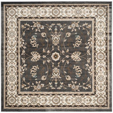 7 X 7 Area Rug Safavieh Lyndhurst Gray 7 Ft X 7 Ft Square Area Rug Lnh340g 7sq The Home Depot