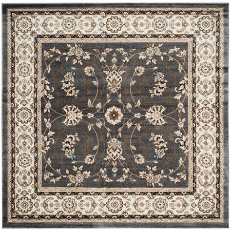 7 x 7 area rug safavieh lyndhurst gray 7 ft x 7 ft square area rug lnh340g 7sq the home depot