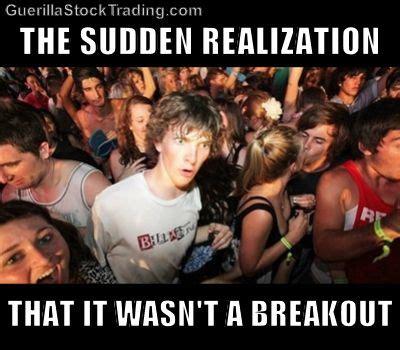 Sudden Realization Meme - sudden realization ralph stock trading jokes meme 171 wall