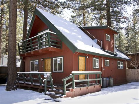 Cabin Rental Tahoe by Cool Tahoe Cabin Tub 5 Min To Ski 1 Vrbo