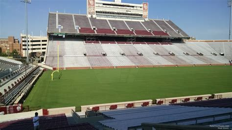 what is section 35 oklahoma memorial stadium section 35 rateyourseats com
