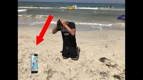 j ai perdu mon iphone 7 a la plage