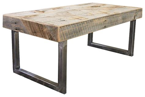 whitson reclaimed wood coffee table rustic coffee