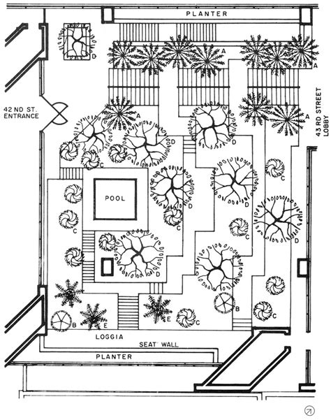 Program To Draw Floor Plans the landscape architecture legacy of dan kiley the