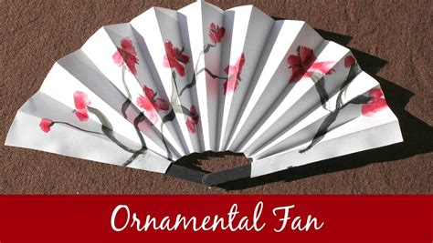how to make a chinese fan marie s pastiche chinese fans how to make an ornamental fan