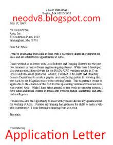 Contoh Application Letter Format Contoh Surat Bahasa Inggris Sle Of Letter The Knownledge