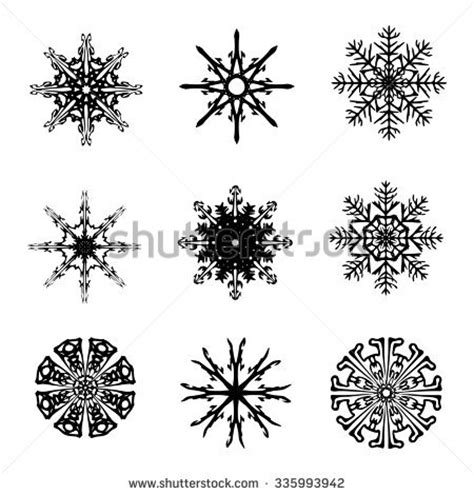 Vector Images Illustrations And Cliparts Snowflake