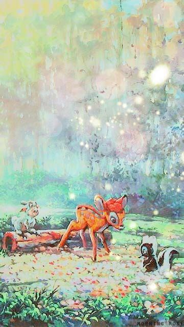 bambi background tumblr