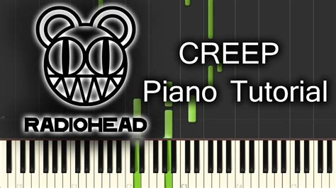 tutorial piano creep radiohead creep piano tutorial youtube