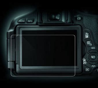 Lcd Kamera Canon 60d lcd skydd i glas canon eos 60d