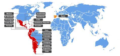 how many country speak translating america or spain