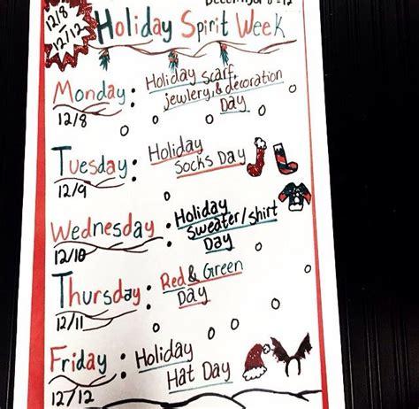 christmas week at school best 25 school spirit days ideas on spirit week ideas school day and hair