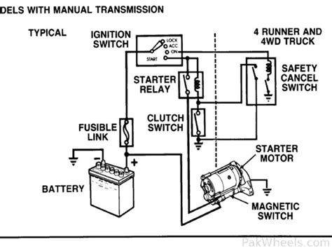 starter kill relay diagram wiring diagrams wiring diagrams