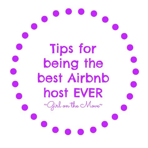 how to be the best airbnb host