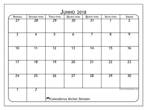 Calendario Junho De 2018 Calend 225 De Junho De 2018 67ds