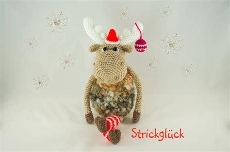 can you pattern elk crochet pattern christmas elk moose reindeer amigurumi