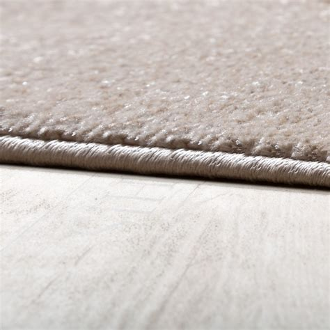 Teppiche 150x150 by Rug Modern Living Room Pile Waves Design Beige