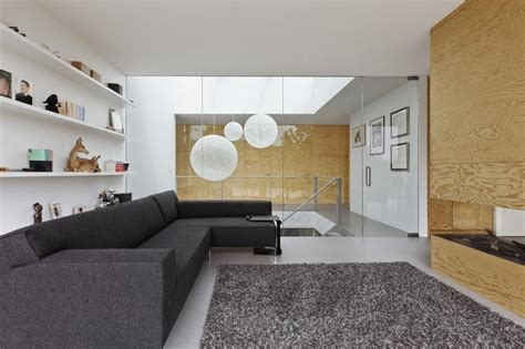 design elements home minimalist home uses pine ply as feature design element