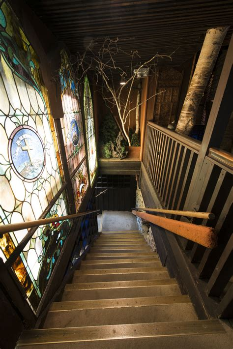 back of the house and top of mind house on the rock wing world magazine