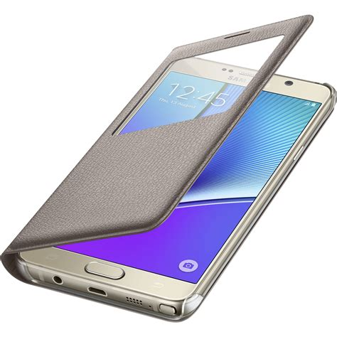 Flip Cover Casing Samsung Galaxy Note 5 Xlevel Xtreme Leather samsung s view flip cover for galaxy note 5 gold