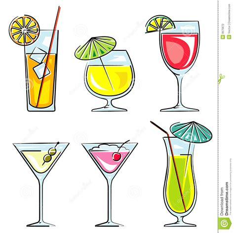 cocktail illustration cocktails vector illustration stock vector illustration
