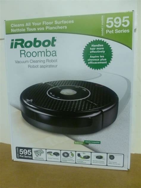 irobot roomba model  pet series vacuum cleaning