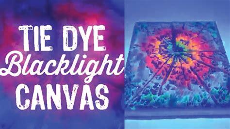 acrylic paint tie dye canvas tie dye blacklight canvas diy vine
