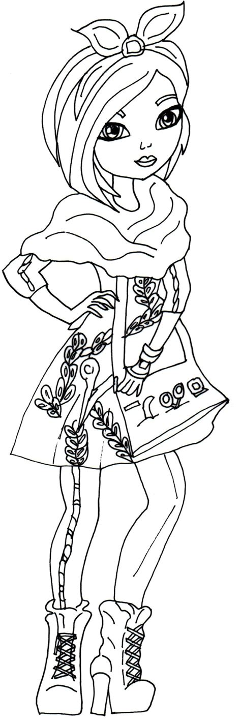 printable coloring pages after high free printable after high coloring pages