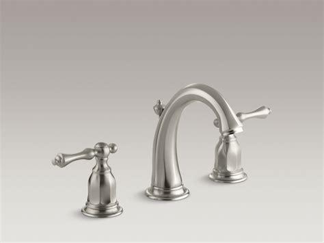 kohler bathroom sink faucet standard plumbing supply product kohler k 13491 4 bn kelston widespread bathroom sink faucet
