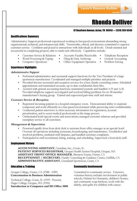 summary qualifications how to write a qualifications summary