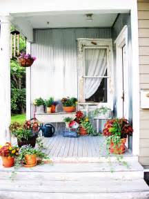 Outdoor Decor Ideas by Shabby Chic Decorating Ideas For Porches And Gardens Hgtv