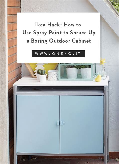 Ikea Hack How To Use Spray Paint To Spruce Up A Boring | ikea hack how to use spray paint to spruce up a boring