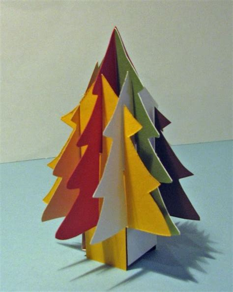 how to make a quot sliceform quot christmas tree man made diy