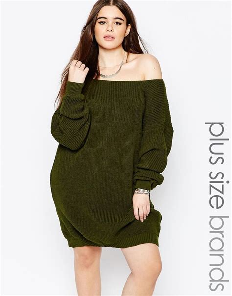 Import Khaki Simple Cardigan boohoo plus the shoulder sweater dress style jumper dress boohoo and jumper
