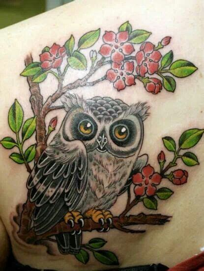 owl tattoo location mejores 24 im 225 genes de owl tattoo best placement for women