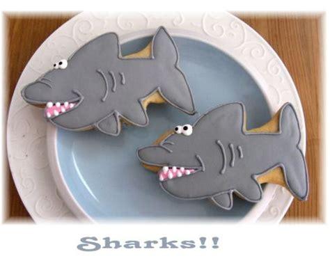 baby shark cookies shark cookies
