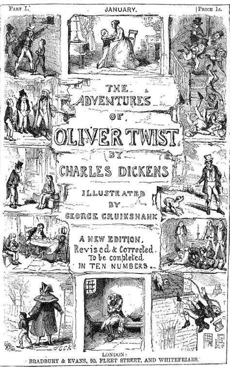 charles dickens biography victorian web quot the wrapper quot for the 1846 serialisation of quot oliver twist