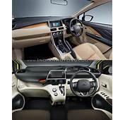 Mitsubishi Expander Vs Toyota Sienta Interior  Indian