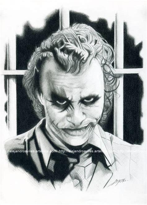 imagenes a lapiz del joker the joker alejandro avil 233 s p 233 rez artelista com