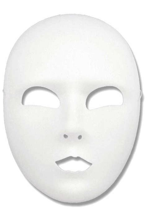 best photos of blank mask printable template full face